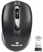 Миша Real-El RM-304 Wireless Black