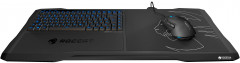 Клавиатура проводная Roccat Sova Membrane Gaming Lapboard USB Black (ROC-12-151)