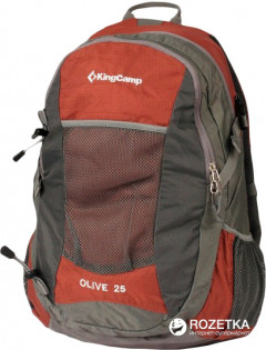 Рюкзак KingCamp Olive 25 Red (KB3307 Red)