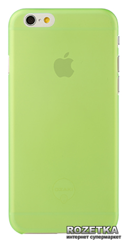 Панель Ozaki O!coat-0.3-Jelly для iPhone 6/6s Green (OC555GN)