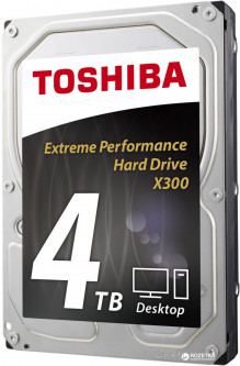 "Жесткий диск Toshiba High-Performance 4TB 7200rpm 128MB HDWE140EZSTA 3.5"" SATA III"