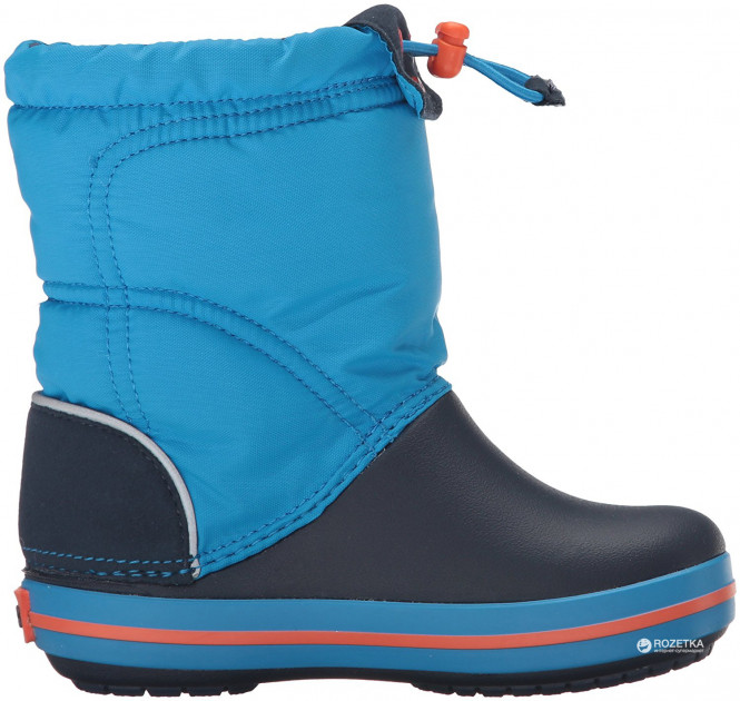 Сапоги Crocs Kids Crocband LodgePoint Boot 203509-4A5-J2 33-34 20.8 см Голубые (887350787344) - изображение 1