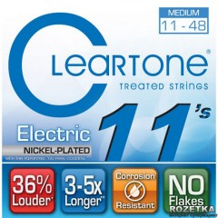 Cleartone 9411 Electric Nickel-Plated Medium 11-48