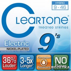 Cleartone 9419 Electric Nickel-Plated Hybrid 09-46