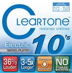 Cleartone 9420 Electric Nickel-Plated Light Top Heavy Bottom 10-52