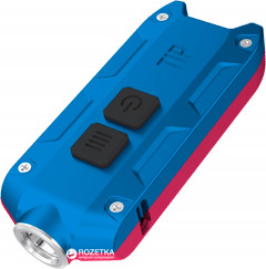 Фонарь Nitecore TIP Winter Edition Red-Blue (6-1214-redblue)
