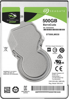 Жесткий диск Seagate BarraCuda HDD 500GB 5400rpm 128MB ST500LM030 2.5 SATA III