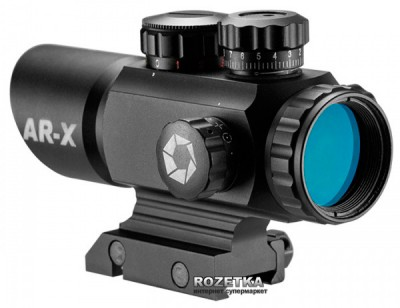 Коліматорний приціл Barska Multi Reticle AR-X 1x35 Red/Green (921044)