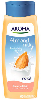 Кондиционер Aroma Fresh Conditioner Almond Milk 400 мл (3800013527788)