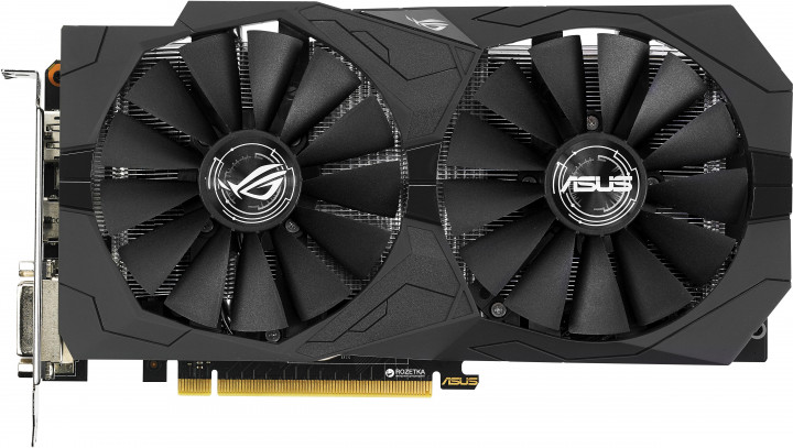 Asus PCI-Ex GeForce GTX 1050 ROG Strix 2GB GDDR5 (128bit) (1354/7008) (2 x DVI, HDMI, DisplayPort) (STRIX-GTX1050-2G-GAMING)