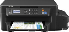 Epson L605 with WI-FI (C11CF72403) + USB cable