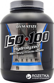 Протеин Dymatize Nutrition ISO 100 726 г