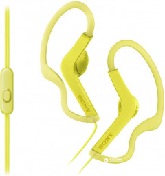 Sony MDR-AS210AP Yellow