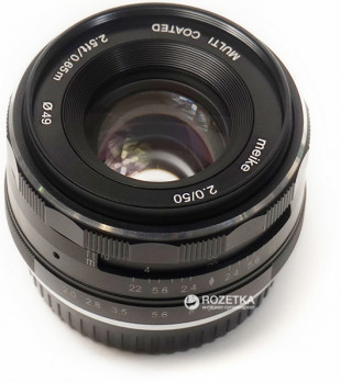 Meike 50mm f/2.0 MC FX-mount для Fujifilm (MKEF5020)