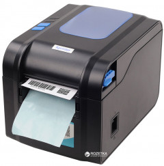 Принтер этикеток Xprinter XP-370B Black