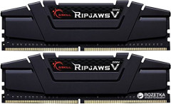 Оперативная память G.Skill DDR4-3200 16384MB PC4-25600 (Kit of 2x8192) Ripjaws V (F4-3200C16D-16GVKB)
