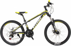 "Велосипед Titan Atlant 12"" 24"" Black/Yellow/White (24TWA17-50-2)"
