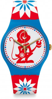 Женские часы SWATCH Lucky Monkey SUOZ203