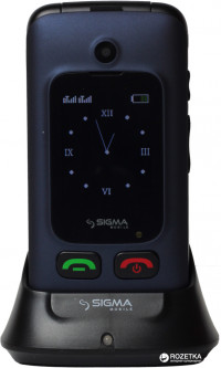 Sigma mobile Comfort 50 Duo Shell Blue