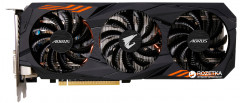 Gigabyte PCI-Ex GeForce GTX 1060 Aorus 6GB GDDR5 (192bit) (1607/8008) (DVI, HDMI, 3 x Display Port) (GV-N1060AORUS-6GD)