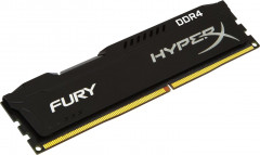 Оперативная память HyperX DDR4-2666 8192MB PC4-21300 Fury Black (HX426C16FB2/8)