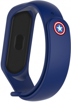 Ремешок ArmorStandart Superhero Edition для Xiaomi Mi Band 5 Captain America Blue (ARM57108)