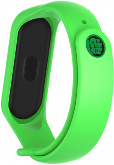Ремешок ArmorStandart Superhero Edition для Xiaomi Mi Band 5 Hulk Green (ARM57069)