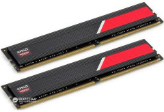 Оперативная память AMD DDR4-2666 16384MB PC4-21300 (Kit of 2x8192) R7 Performance Series (R7416G2606U2K)