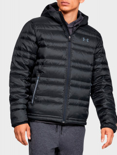 Куртка Under Armour Ua Armour Down Hooded Jkt 1342738-001 S Черная (192810223479)