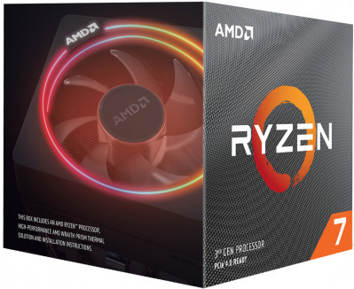 Процесор AMD Ryzen 7 3800XT 3.9 GHz / 32 MB (100-100000279WOF) sAM4 BOX