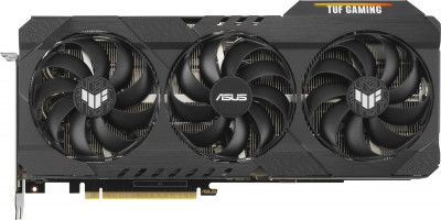Asus PCI-Ex GeForce RTX 3090 TUF Gaming OC 24 GB GDDR6X (384 bit) (19500) (2 x HDMI, 3 x DisplayPort) (TUF-RTX3090-O24G-GAMING) + Блок живлення Asus ROG Thor 1200 W