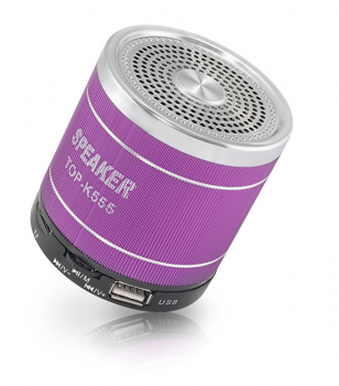 Колонка Bluetooth TOP-K555 Violet