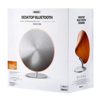 Портативная Bluetooth колонка Remax RB-M23 Silver 68694