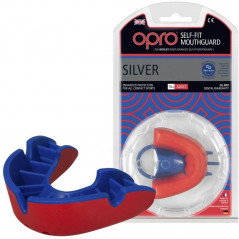 Капа Opro Silver - Red/Blue (002189005)