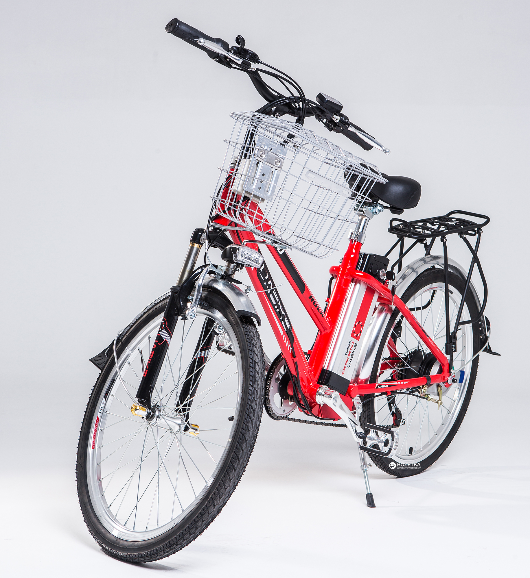 Электровелосипед Uabike EOS 24 Red (01020200)