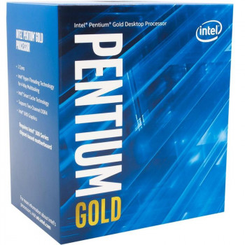 Процесор Intel Pentium Gold G6400 4.0 GHz (4MB, Comet Lake, 58W, S1200) Box (BX80701G6400)