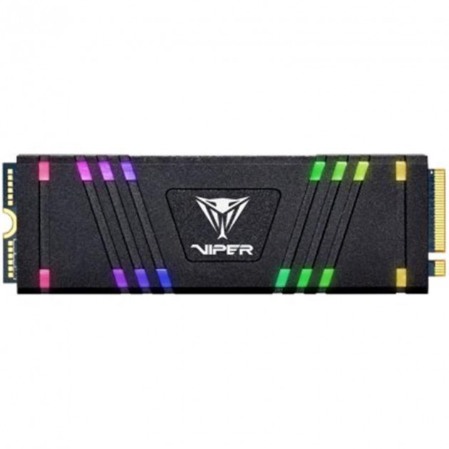 Накопичувач SSD 256GB Patriot VPR100 RGB M. 2 2280 PCIe 3.0 x4 3D TLC (VPR100-256GM28H) - зображення 1