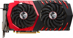 MSI PCI-Ex Radeon RX 580 Gaming 4GB GDDR5 (256bit) (1353/7000) (DVI, 2 x HDMI, 2 x DisplayPort) (RX 580 GAMING 4G)