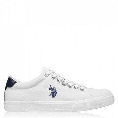 Кеди US Polo Assn US Polo Jaxon Sn02 White WHI, 43 (280 мм) (11217753)