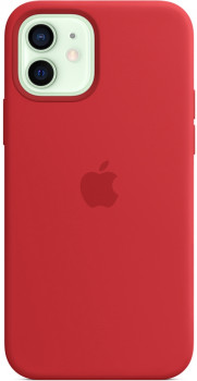 Панель Apple MagSafe Silicone Case для Apple iPhone 12/12 Pro Red (MHL63ZE/A)