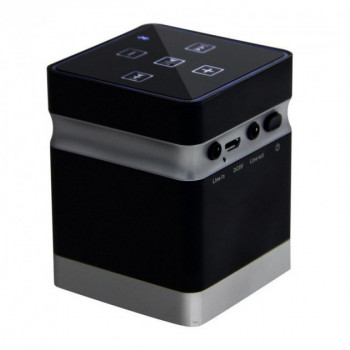 Виброколонка Bluetooth 26 Ватт Adin BT-BOX Black