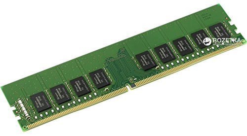Память Kingston ValueRAM DDR4-2400 16384MB PC4-19200 ECC (KVR24E17D8/16)