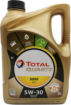 Моторне масло Total Quartz 9000 Future NFC 5W-30 5 л (183199)