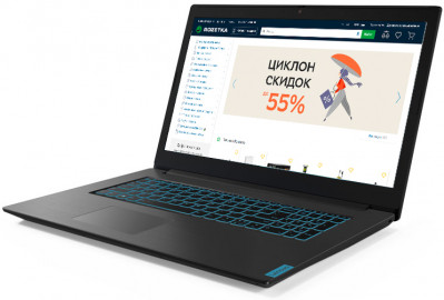 Ноутбук Lenovo IdeaPad L340-17IRH Gaming (81LL00K5RA) Granite Black