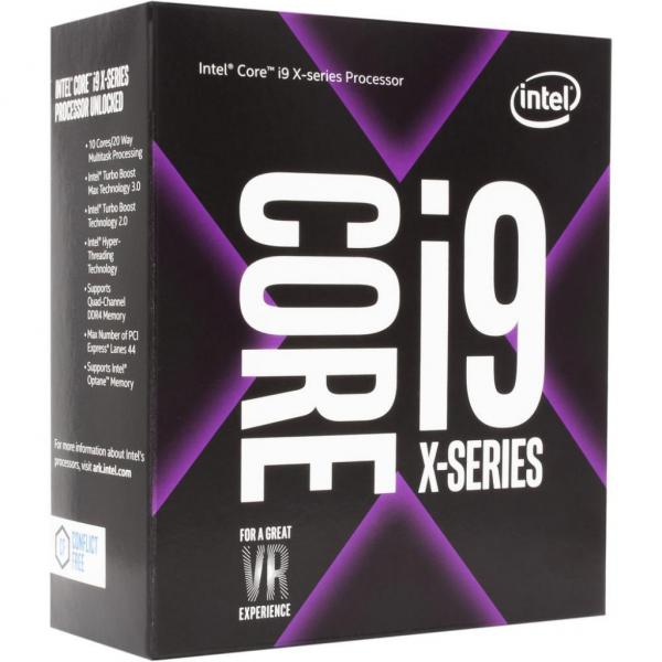 Процессор Intel Core i9-7900X X-Series 3.3GHz/8GT/s/13.75MB (BX80673I97900X) s2066 BOX