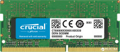 Оперативная память Crucial SODIMM DDR4-2400 4096MB PC4-19200 (CT4G4SFS824A)