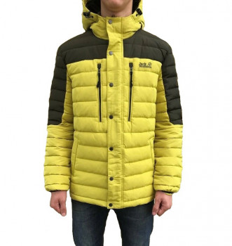 Чоловічий пуховик JACK WOLFSKIN RICHMOND DOWN JACKET MEN JW1203432 Yellow / Black
