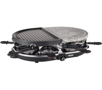 Электрогриль Princess 162710 Raclette 8 Oval Stone & Grill Party