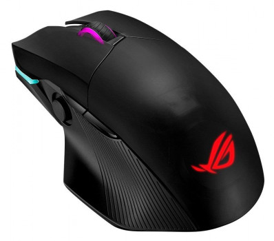 Мышка ASUS ROG Chakram Wireless Black (90MP01K0-BMUA00)