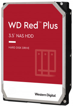 Жорсткий диск Western Digital Red Plus 2TB 5400rpm 64МB WD20EFRX 3.5 SATA III